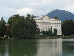 The von Trapp House in the movie (backside), Lawrence T - September 2010