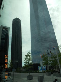 Madrid's skyscrapers! , Alexia T - August 2011