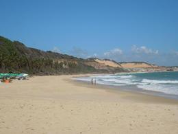 at Baía dos golfinhos, a paradise, Lucia - February 2013