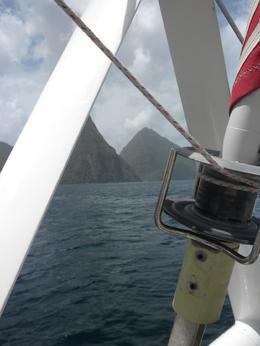 The view - St Lucia Catamaran Day, Jennifer S - June 2010