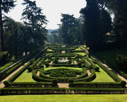 The formal gardens in the vatican gardens on a perfect September day. , Peter B - September 2016