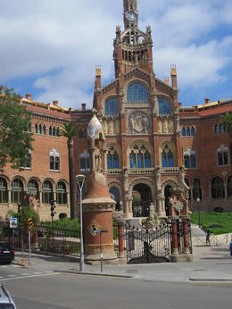 Old government building we saw a one of the stops. Many great architectural site. in Barcelona. , Jose - September 2016