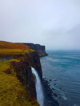 A beautiful view of the Kilt Rock cliff , Debabrata D - April 2015