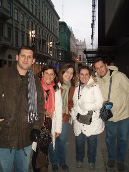 NIKOLIS, EVA, CHARIS, MARILENA AND OUR VIATOR GUIDE ESTHER IN BUDAPEST!!! THANK YOU FOR THE TOUR! 18 MAR 2011 , EVA G - March 2011