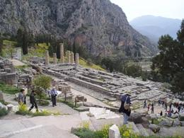 Photo of Temple of Apollo, Delphi., Ralph R - March 2008