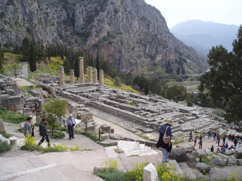 Temple of Apollo, Delphi - Athens