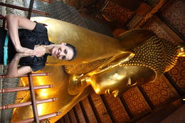 Wat Pho, Asha & Brock - July 2013