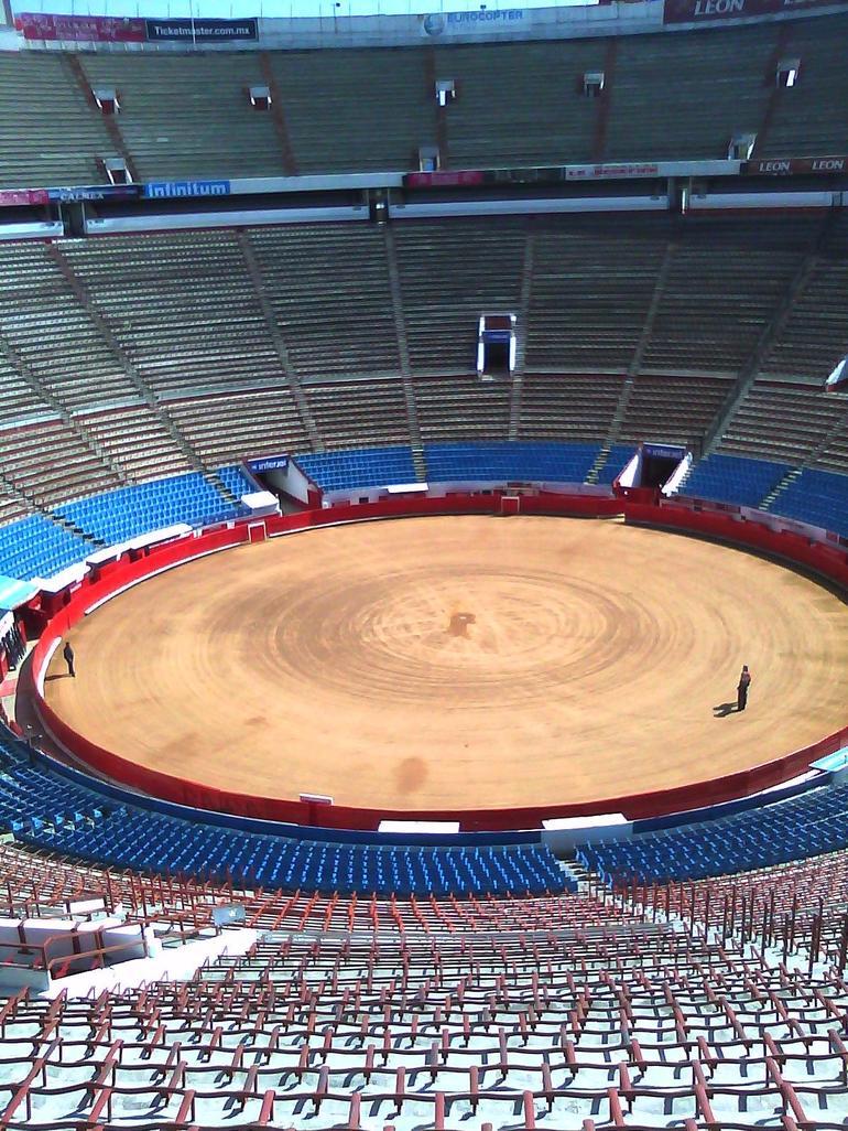 The Bull Ring Of Mexico City - Mexico City