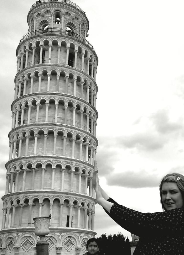 The famous Leaning Tower of Pisa! - Florence