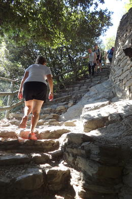 Just showing the steepness of the trail , rauschs4 - October 2014