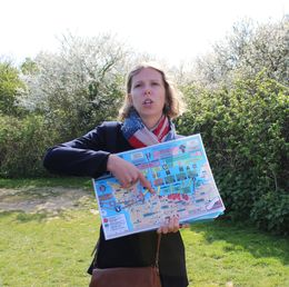 Katie our tour guide explains it all. , Laura A - May 2015