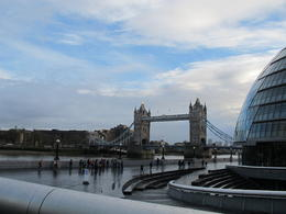 The View on the Tower Bridge from the Thames River , Pavol K - January 2014