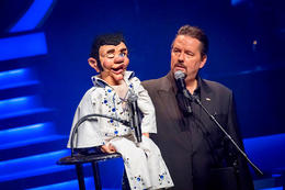 Terry Fator live at the Mirage Hotel and Casino., Viator Insider - December 2017