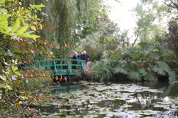 Lily pond at Giverny , Kathryn Z - October 2016