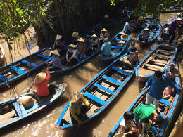 Sampan boats , Mariusz M - January 2017