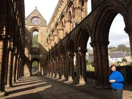Inside the ruins of Jedburgh Abbey , SunKing1665 - May 2017