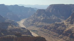 Colorado River from the top of the Grand Canyon , Helen E - August 2017