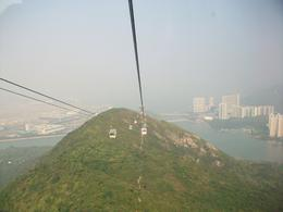 Going down in the cable car, spectacular views. , Philip A - December 2010