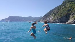 The Jump into the Sea! Check! , Michele L - July 2016