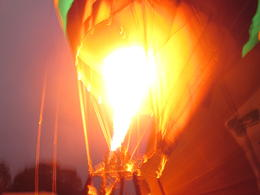The flames kicking the balloon up into flight were just amazing, Nicks - January 2014