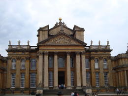 Here's a view of Blenheim Palace from the front...stunning arcitecture! , Jessica - July 2011