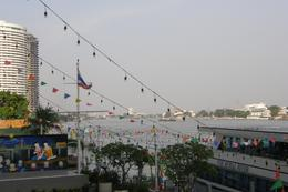 Another shot of the Chao Phraya River from our riverside hotel in Bangkok., Tighthead Prop - September 2010