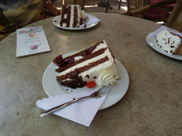Black Forest Cake in Baden Baden. , Ceej - July 2014