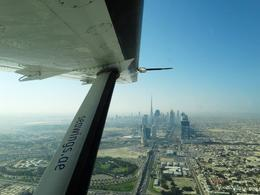 A beautiful view of Downtown Dubai from the first seaplane flight , Clay S - March 2014