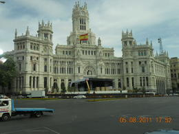 Beautiful buildings in Madrid! , Alexia T - August 2011