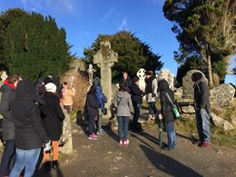 Glendalough with John from Wild Wicklow Tours , Muralikrishnan E - February 2015
