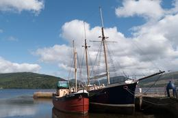 ships at Inveraray , Elki - August 2014