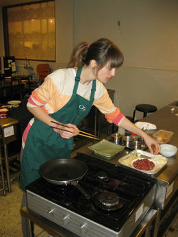 In a process of making bulgogi (grilled marinated beef) , Dace L - April 2014