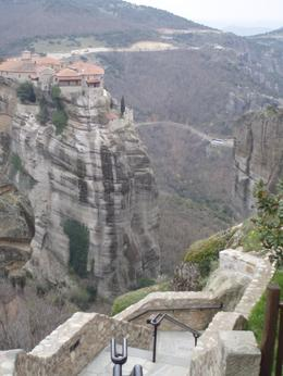 Photo of a monastery, Meteora., Ralph R - March 2008