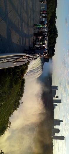 Sunset at the Niagara Falls.. , N S N - September 2014