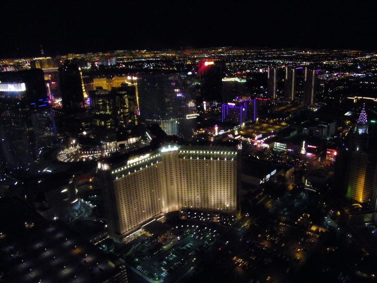 Night View of the Strip - Las Vegas