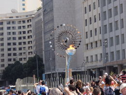 Olympic Torch , Jeremy P - August 2016