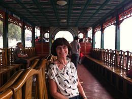 Hanging out on the Dragon Boat!, Julie - June 2012