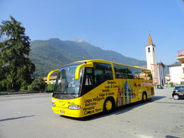 Our ride to the foothills of the Swiss Alps. , Judy & Mike - July 2012