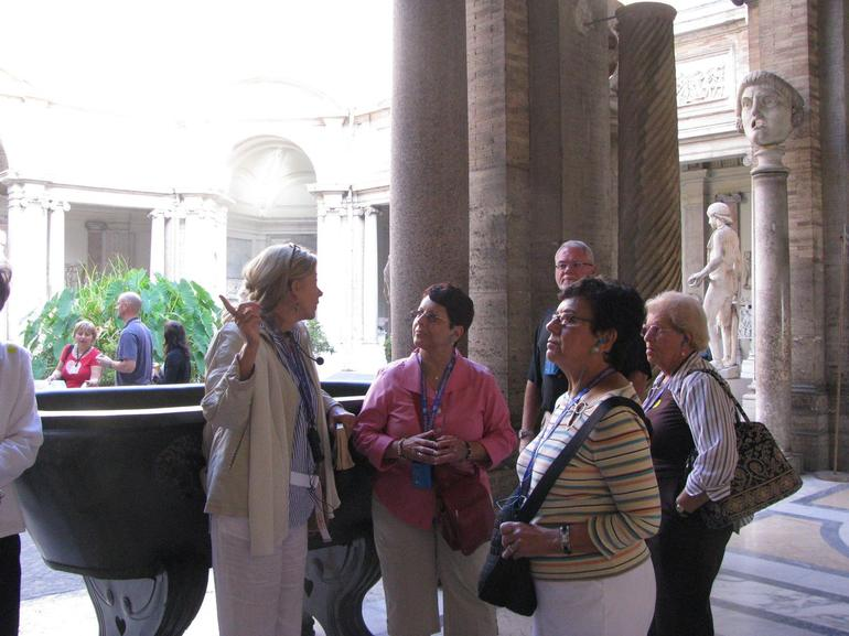 Our Tour Guide, Karina - Rome