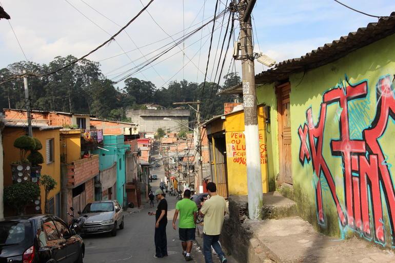 Outside the Casa de Pedra - São Paulo