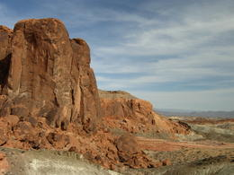 Just one of the many rock formations throughout the park. , Vanessa B - March 2012