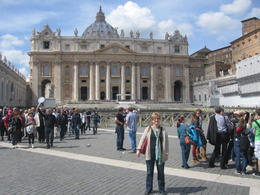 At St Peter's Square. , Karen C - April 2013