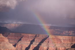 A rainbow in the canyon, 12/18/14 , dco - January 2015