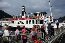 Lake Como day trip: Our first Steamer boat ride!!, Richard L - August 2010
