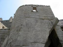 One of the temples at Machu Picchu., Bandit - December 2010