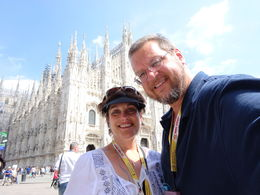 Our tour guide shared many interesting facts about this amazing cathedral. We learned so much. Beautiful - definitely a high point of our trip to Italy, , Mimi W - July 2015