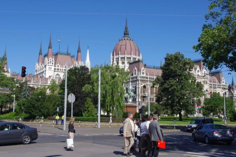 View of Parliament building - Budapest