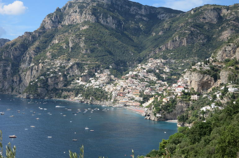 View of Positano. - Rome