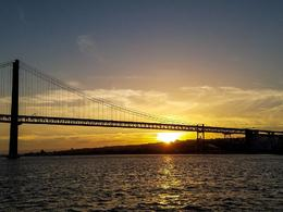 Beautiful sunset from the Tagus River , Peter O - October 2017