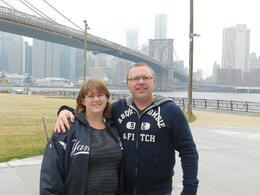 Having a blast on the Best of Brooklyn Sightseeing, Food and Culture Tour, Chris and Naomi from Tasmania, Australia , Schoie - March 2012